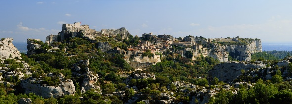The hanging village of Gordes is a popular Provençal tourist sight
